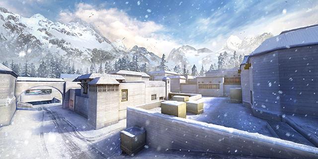 Crossfire Legends : Chiêm ngưỡng vẻ đẹp mùa đông của map Bão Sa Mạc