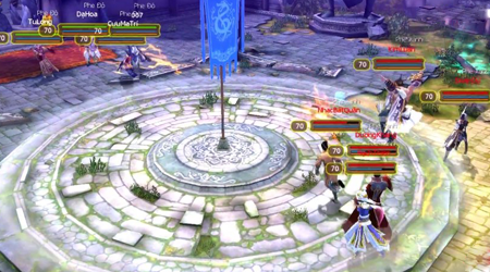 Cận cảnh chế độ MOBA 5vs5 trong game Cửu Âm VNG