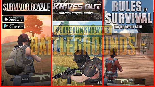 Là tín đồ của dòng game giống PUBG, bạn nên chọn Rules of Survival hay Knives Out?