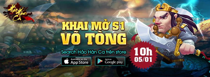 Hảo Hán Ca Mobile tung giftcode mừng game ra mắt phiên bản Closed Beta