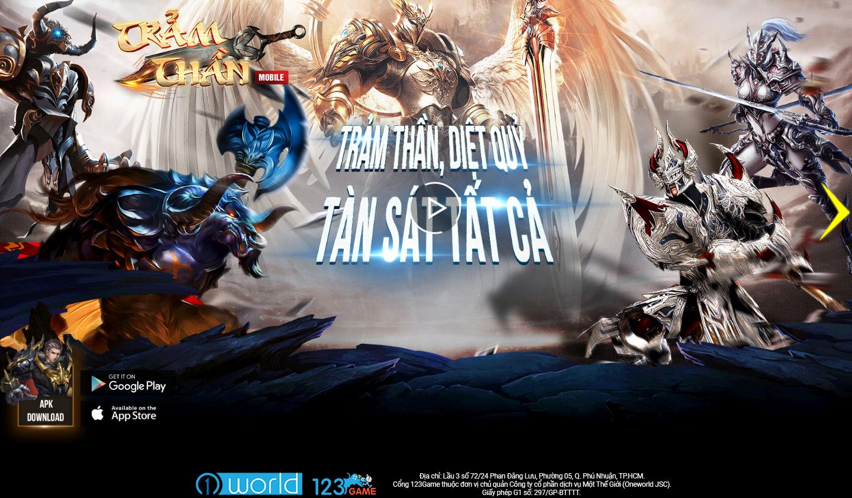 Game mobile nhập vai tàn sát 3D Trảm Thần Mobile đã chọn được ngày ra mắt