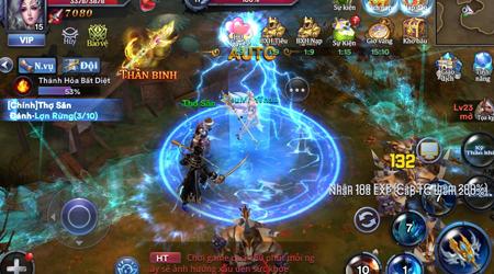Đại Chiến Thần Ma – MMORPG 3D đột phá với hệ thống PVP 10vs10 đặc sắc