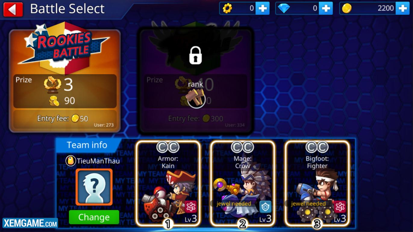 Gunbound M | XEMGAME.COM