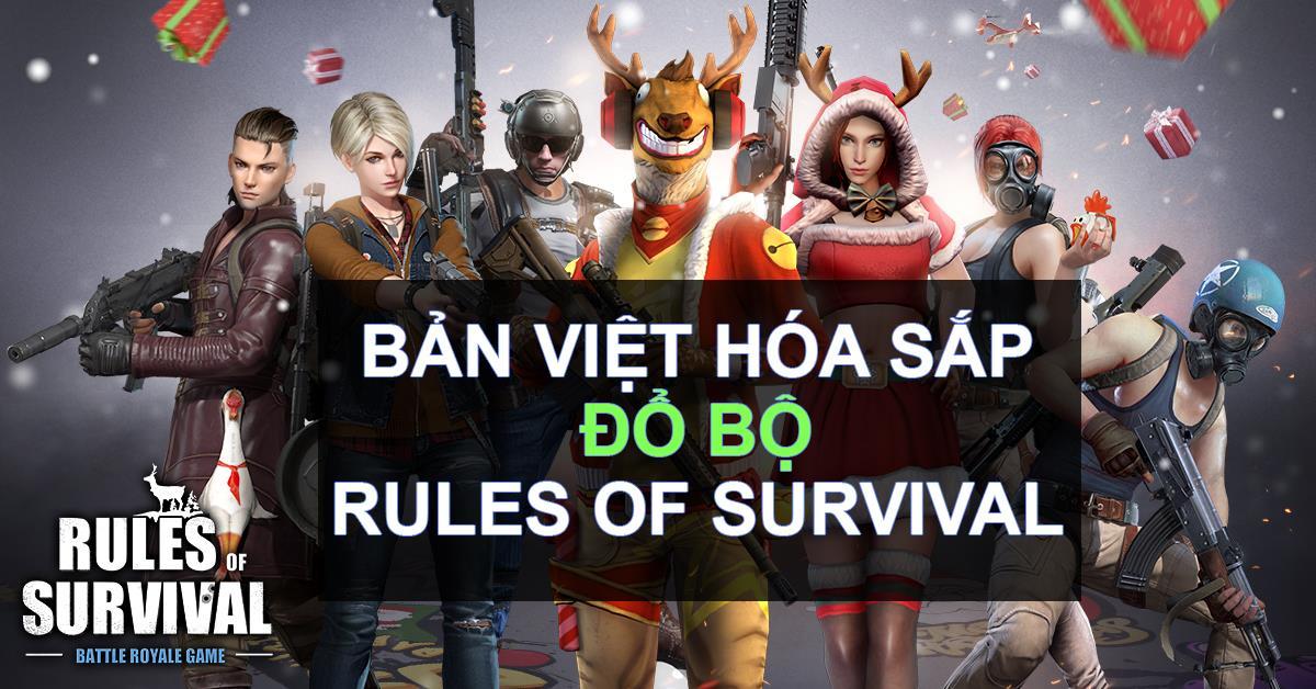 Rules of Survival chuẩn bị được Việt hóa hoàn toàn