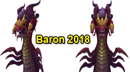 Liên Minh Huyền Thoại: Trang phục mới Baron trong dịp Tết Nguyên Đán 2018 – Cười cực thốn!