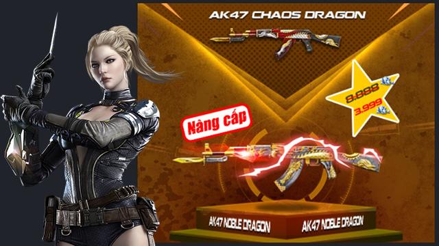 Crossfire Legends : Cơ hội không thể bỏ qua để sở hữu AK47 và Barrett Noble Dragon