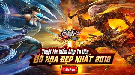 """[Infographic] Cổ Kiếm Truyền Kỳ quả xứng danh MMORPG Kiếm hiệp tu tiên """"HOT"""" nhất đầu 2018!"""