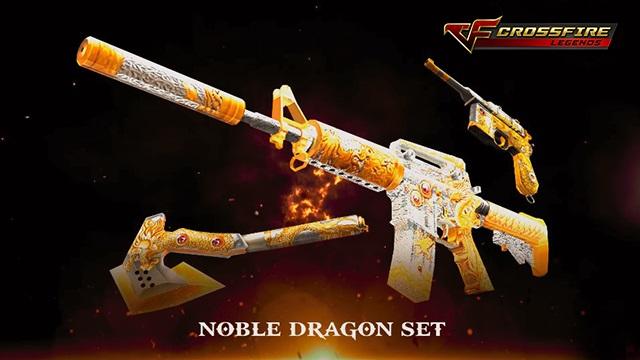 """Crossfire Legends: Tìm hiểu về bộ vũ khí """"quý tộc"""" Noble Dragon"""