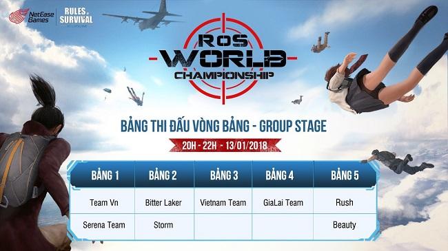 Cổ vũ tuyển Việt Nam thi đấu RoS World Championship khu vực Châu Á