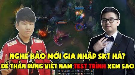 """LMHT: """"Thần rừng Việt Nam"""" SofM thử test trình độ của SKT Thal – Kết quả ngoài sức tưởng tượng"""