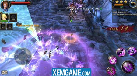 Trảm Thần Mobile kết hợp hài hòa lối chơi cày cuốc cá nhân và co-op cùng đồng đội