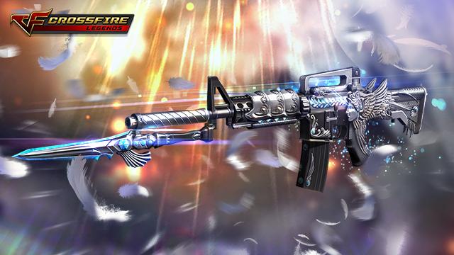 Crossfire Legends : Sức mạnh của khẩu súng thiên sứ M4A1-Angel