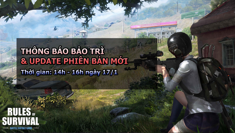 Rules of Survival sẽ hỗ trợ tiếng Việt trong bản cập nhật hôm nay?