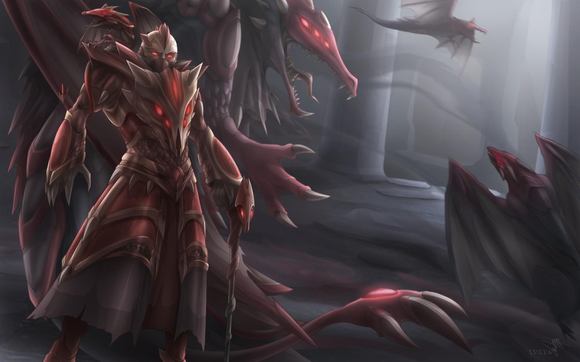 LMHT: Riot bật mí việc chuẩn bị ra mắt skin Swain Luyện Rồng