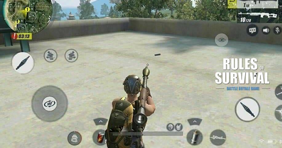 Lộ diện khẩu súng cực khủng sẽ xuất hiện trong bản đồ 8×8 của Rules of Survival