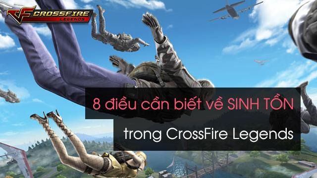 Những điều bạn cần biết về chế độ sinh tồn sắp xuất hiện trong Crossfire Legends