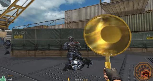 """Đột Kích chuẩn bị cập nhật vũ khí """"trấn phái"""" của PUBG : Chảo Vàng"""
