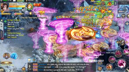 Trải nghiệm Tiên Kiếm Truyền Kỳ – Đồ họa đẹp mắt, gameplay phong phú