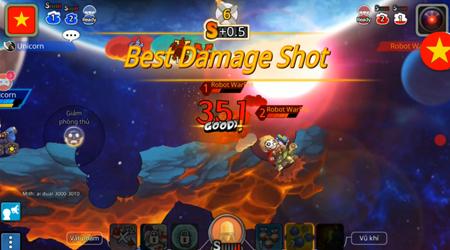 """""""Nice Shot"""" trong Gunbound M: Cách game thủ phô diễn kĩ năng và tích lũy điểm SS"""