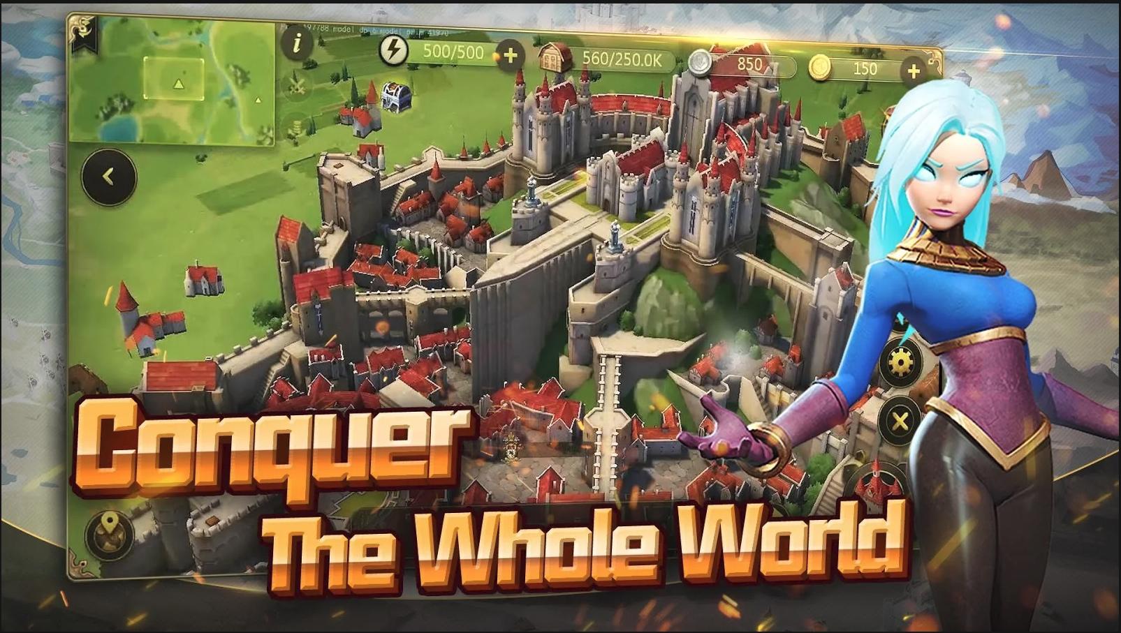 Glory Of Empire – siêu phẩm xây dựng thành phố mới đến từ NetEase