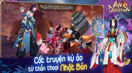 Game thủ Việt sôi nổi khám phá game Âm Dương Sư Mobile
