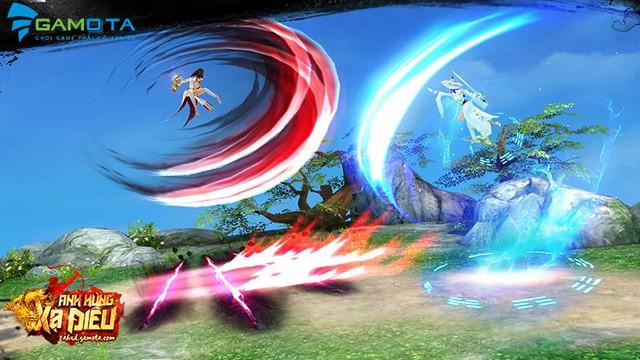 Anh Hùng Xạ Điêu Gamota là game mobile đúng chuẩn dành riêng cho fan cuồng kiếm hiệp