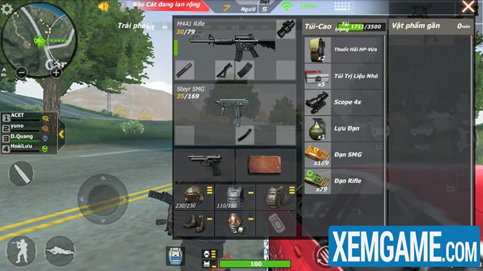 Crossfire Legends Sinh Tồn | XEMGAME.COM