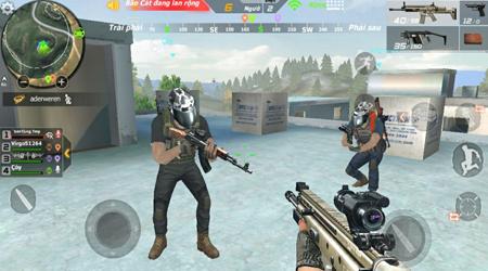 Crossfire Legends Sinh Tồn ngày đầu ra mắt, đúng chất game nhảy dù bắn súng