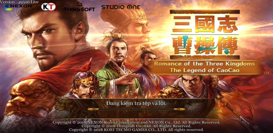 Romance of the Three Kingdoms: The Legend of CaoCao (RoTK mobile)