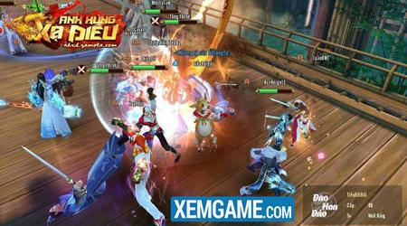 Anh Hùng Xạ Điêu Gamota cung cấp đất diễn cho những game thủ thích PK