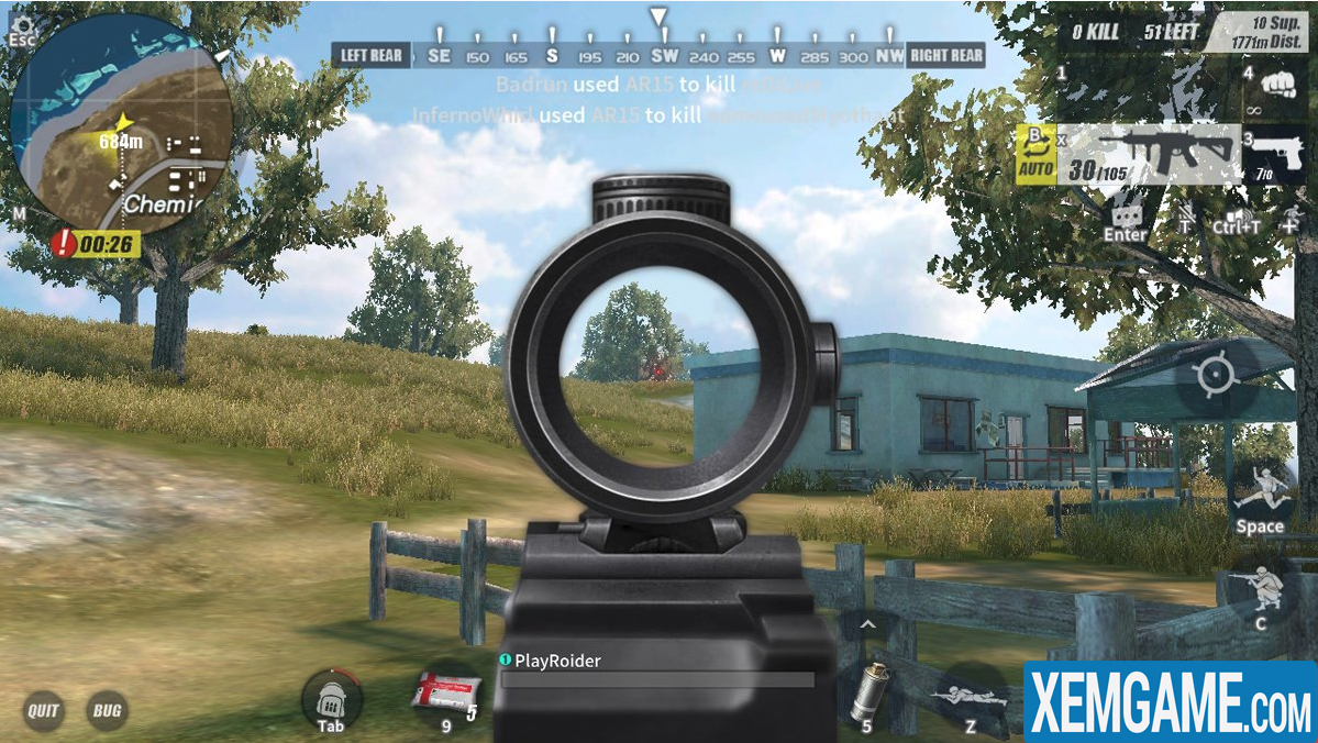 Rules Of Survival PC   XEMGAME.COM