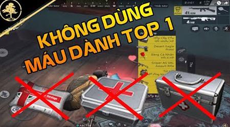 Thử thách KHÔNG dùng MÁU dành top 1 Rules of Survival Việt Nam