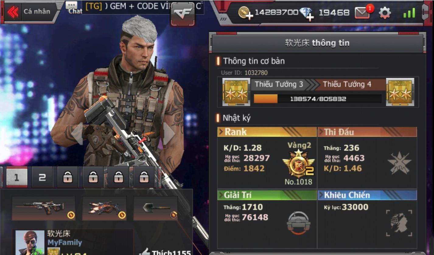 Crossfire Legends : Không nạp một đồng, game thủ này sắp đạt đến mục tiêu full AK Transformer