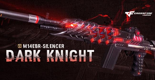 M14EBR-S Dark Knight khiến chiến trường CrossFire Legends trở nên rực lửa hơn