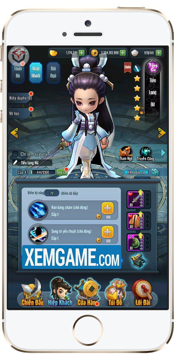 Luận Kiếm Giang Hồ | XEMGAME.COM