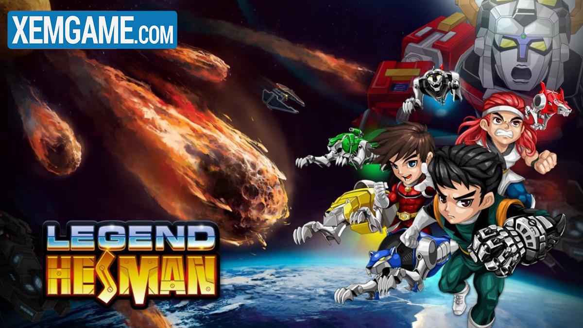 Hesman Legend | XEMGAME.COM
