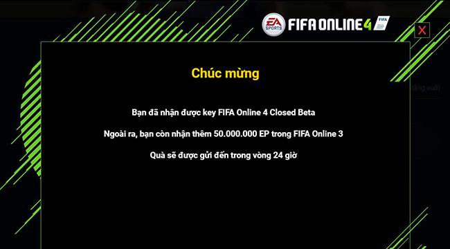 HOT: Hướng dẫn nhận và kích hoạt Key Close Beta Fifa Online 4 ngay bây giờ từ Garena