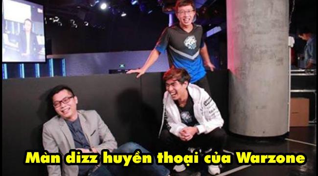 """LMHT: Phỏng vấn sau chiến thắng trước GAM và màn """"dizz"""" huyền thoại của Warzone dành cho HLV Tinikun"""