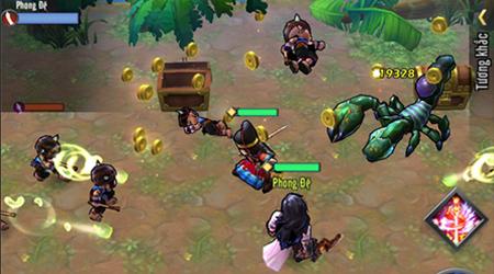 Luận Kiếm Giang Hồ thực sự là game sở hữu lối chơi độc đáo so với các game cùng thể loại trên thị trường hiện nay