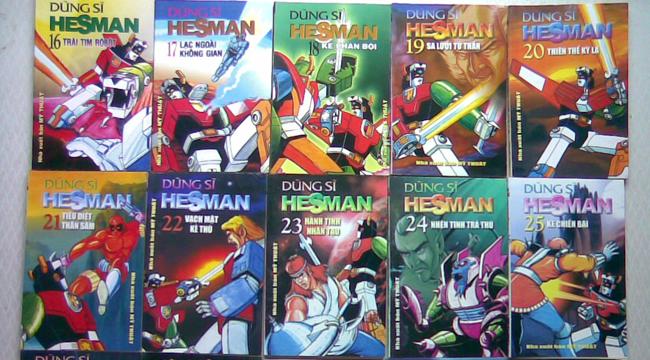 Dũng Sĩ Hesman – Một thời tuổi thơ đẹp đẽ và đáng nhớ của một thế hệ đọc giả