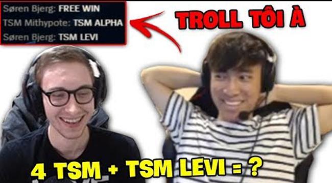 LMHT: Chung team với 4 ông thần TSM, Levi ngượng chín người khi được Bjergsen gọi là TSM Levi