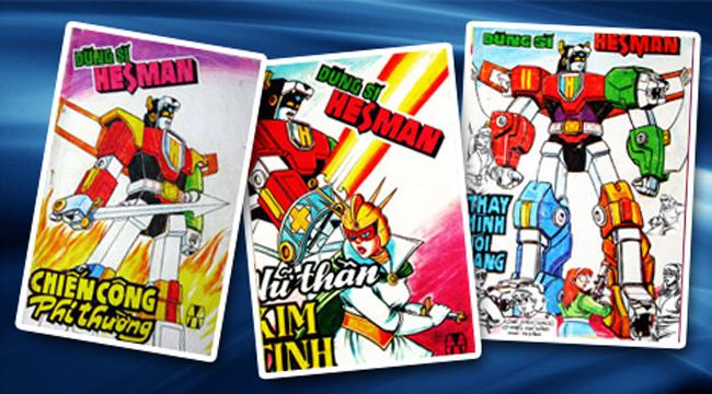 Dũng Sĩ Hesman là bộ truyện tranh Việt được đọc giả lưu giữ suốt hơn 20 năm