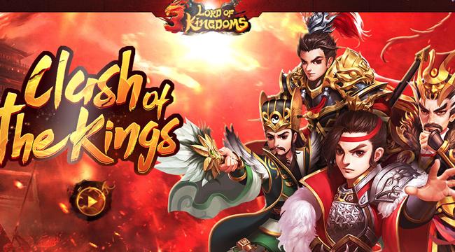 Lord of 3 Kingdoms – game mobile Tam Quốc Chí với đồ họa chibi độc đáo