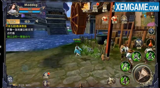 360Mobi Kiếm Khách VNG có cốt truyện thuần Võ Lâm với rất nhiều tính năng đặc sắc