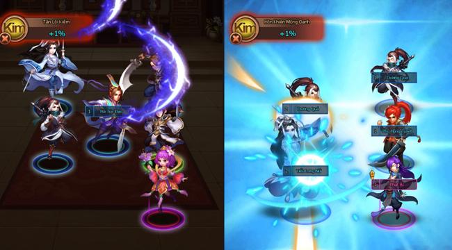 Trông game mobile Mộng Kiếm 2 đơn giản vậy mà lại hút người chơi ra phết