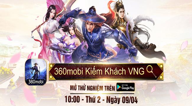 Rất đông fan game Ngọa Hổ Tàng Long rủ nhau sang 360Mobi Kiếm Khách VNG