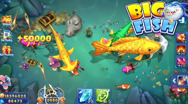 Big Fish H5 không phải là game cờ bạc trá hình, trái lại đây là game giải trí đề cao kỹ năng của người chơi