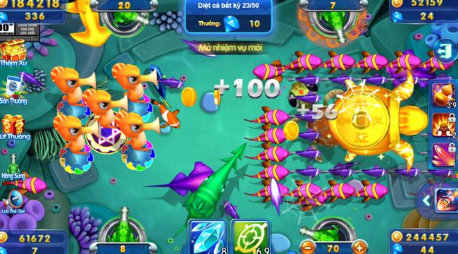 Trải nghiệm Big Fish H5: Càng chơi càng say mê với lối chơi đơn giản mà cuốn hút