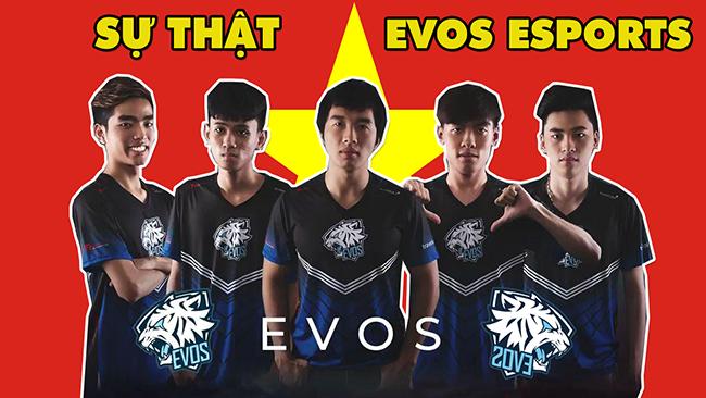 Sự thật EVOS Esports: Hành trình đi lên từ số 0 tròn trĩnh của những chú CỌP TRẮNG