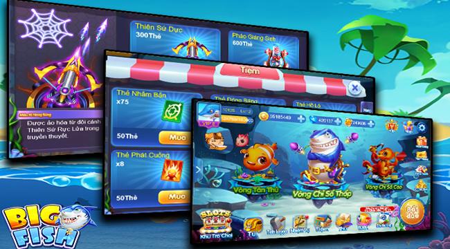 Big Fish H5 mang đến cơ hội trải nghiệm game bắn cá mọi lúc mọi nơi